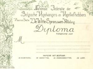 Gezocht:Oude diploma's,kampioenenlintjes van tentoonstellingen