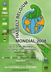 Mondial 2008 Ethias Arena Hasselt