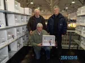De Nachtegaal Eigenbilzen behaald Medailles op Ornithologisch WK in Rosmalen (Nederland)
