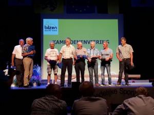 Viering Sportkampioenen stad Bilzen in De Kimpel op 23/06/2017